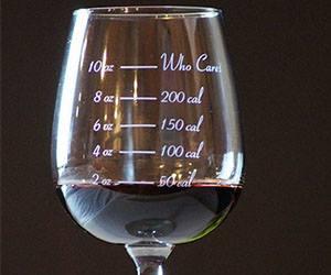 Wine, calories & miles........