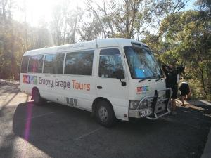 Groovy Grape adventure bus